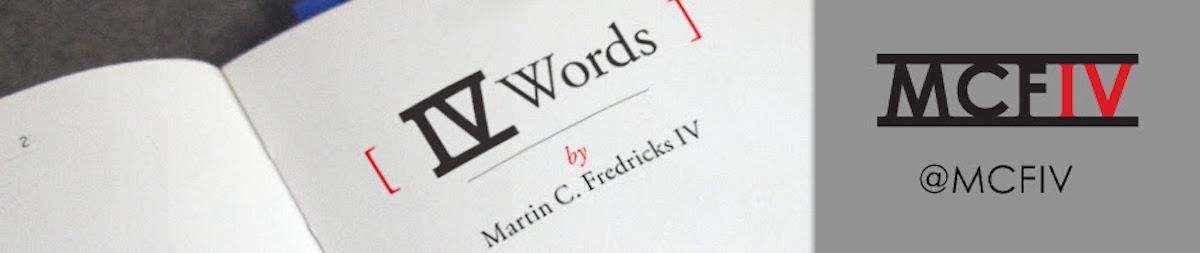 IV WORDS