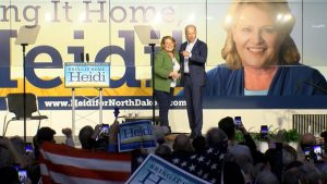 Heidi Heitkamp rally