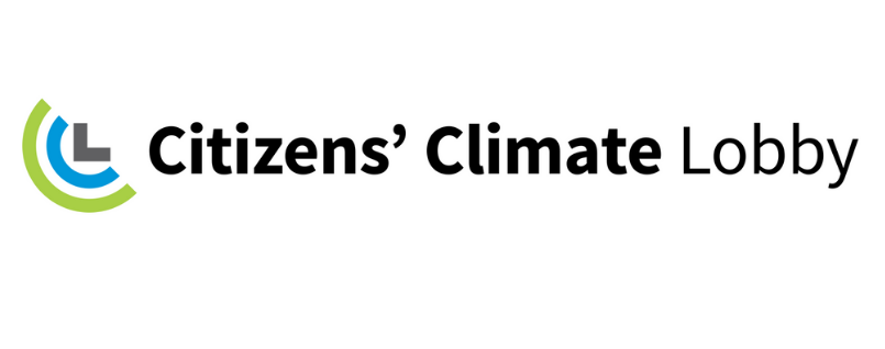 Citizens' Climate Lobby stacked logo for fighting climate change