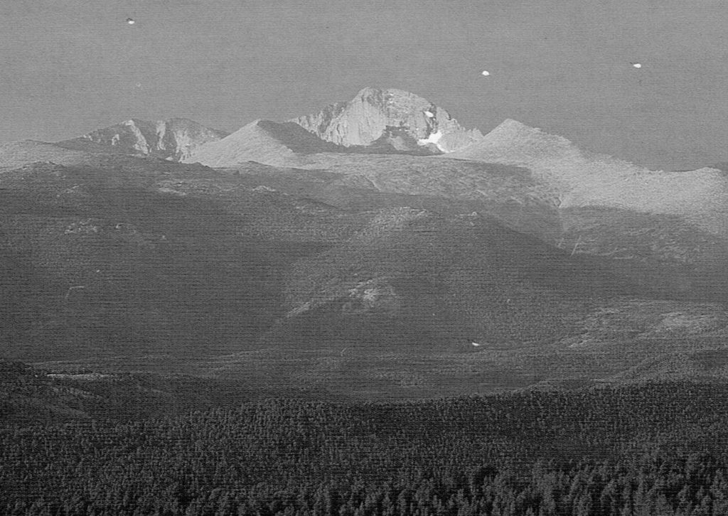 Picture of Longs Peak, Rocky Mountain National Park, Colorado