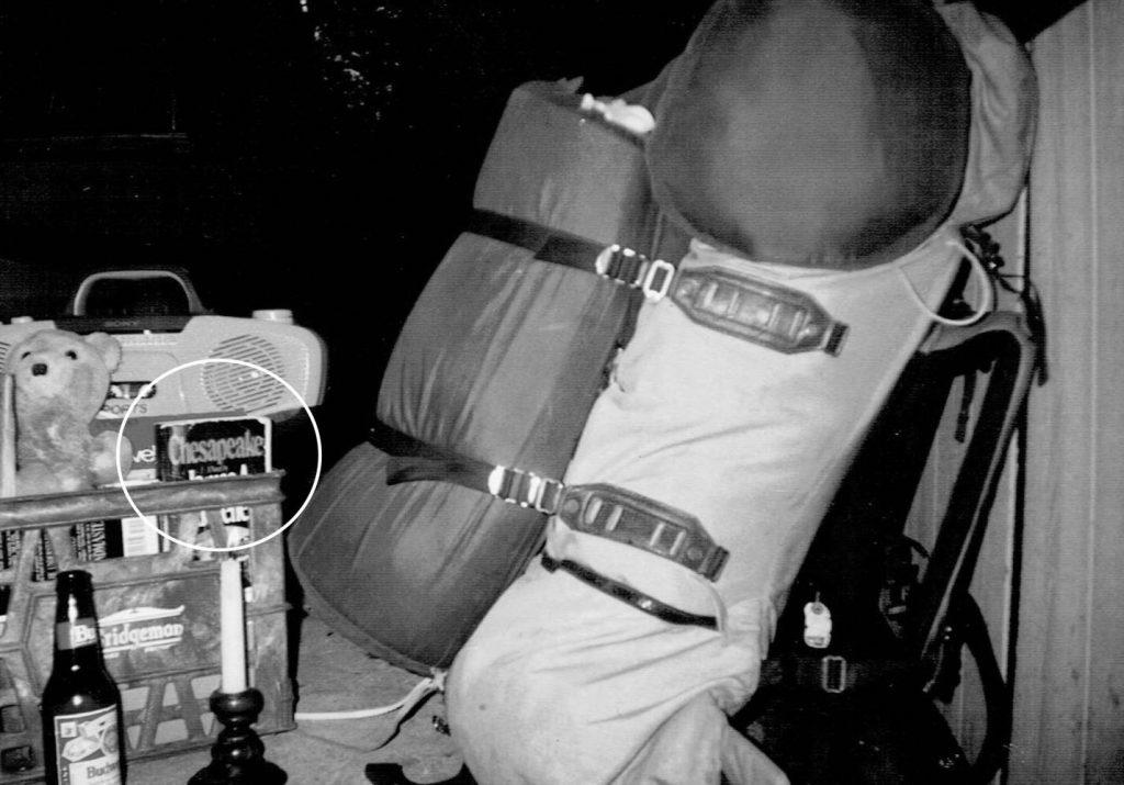 Martin C. Fredricks IV luggage, at the Aspen Lodge near Estes Park, Colorado