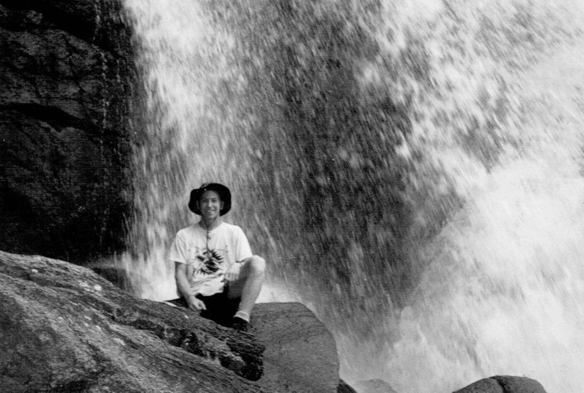 Martin C. Fredricks IV at Ouzel Falls