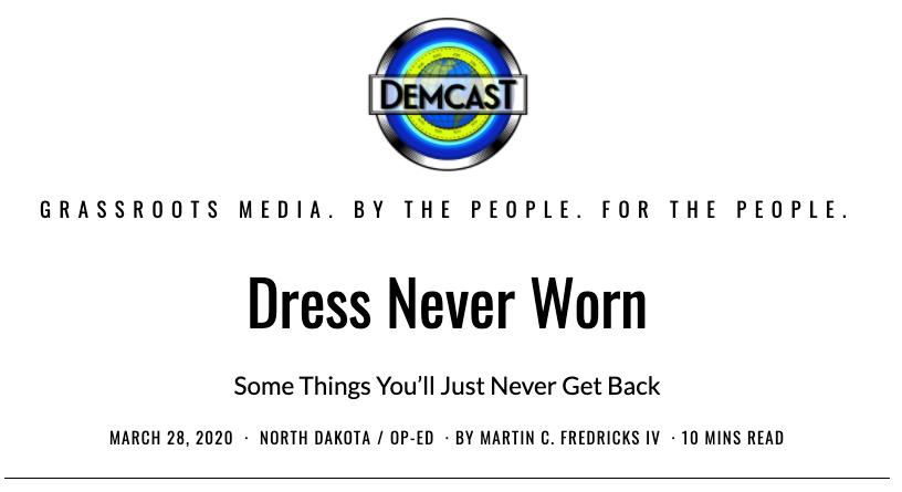 DemCastUSA.com headline for IV Words