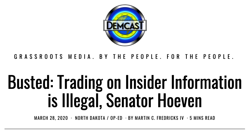 Hoeven Illegal Trading Post Reprinted on DemCast