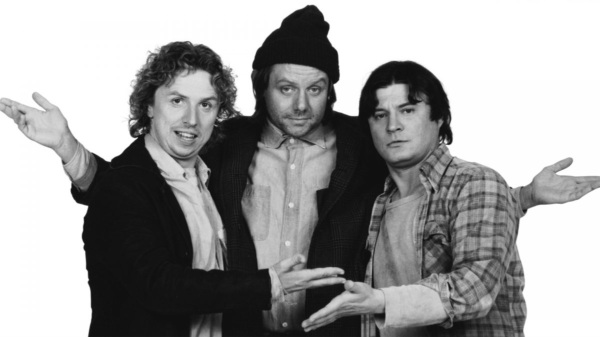 Image of Larry, Darryl & Darryl from Newhart Show, COVID-19 Conceirages