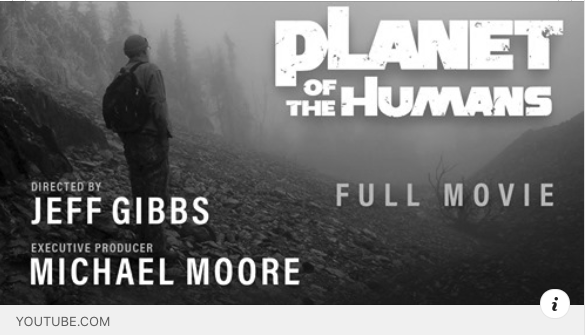 "Documentary Review:  ""Planet of the Humans"""