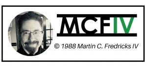 Copyright 1988 Martin C. Fredricks IV