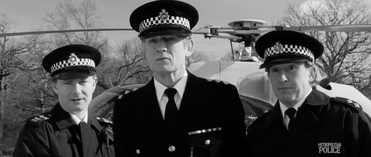 "Image from film ""Hot Fuzz"" to accompany COVID-19 post."