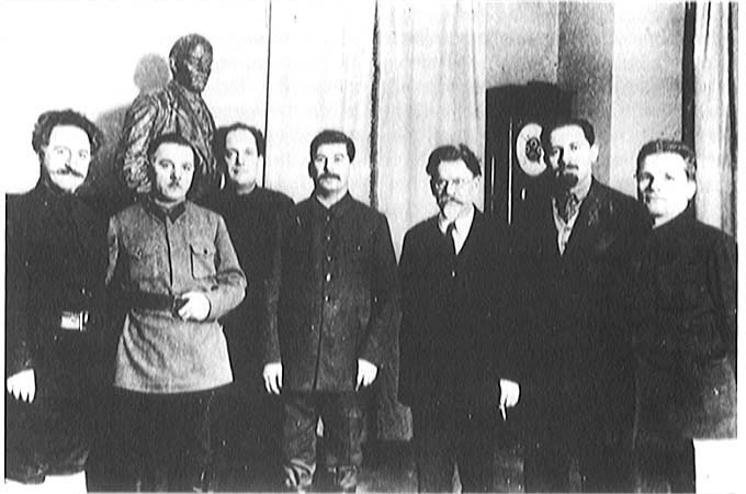"""Stalin and colleagues, 1929"" from the Library of Congress"