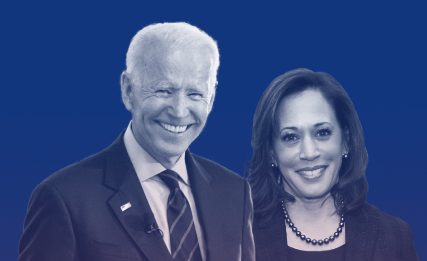 Image of Joe Biden & Kamala Harris