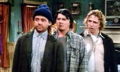 "Photo of ""Newhart"" characters Larry, Darryl & Darryl for coronavirus post"