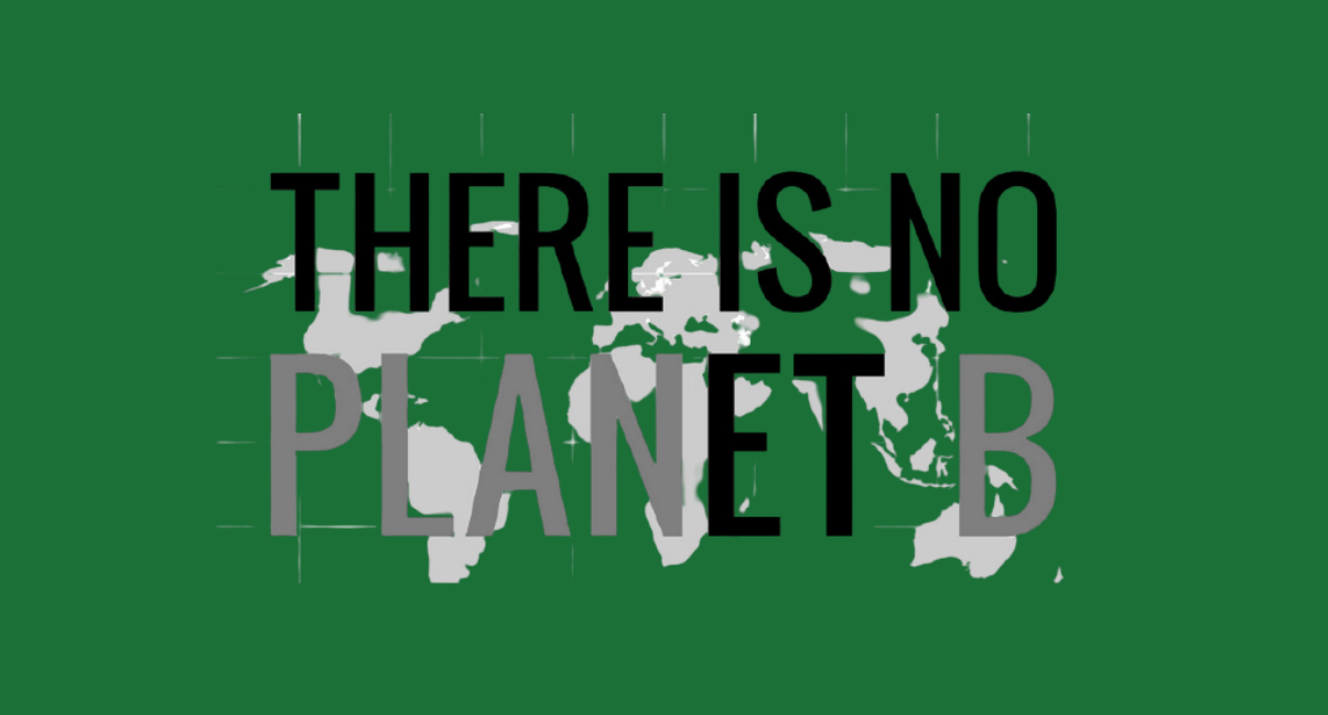 Graphic - There Is No PLANetB, we must act on the climate crisis