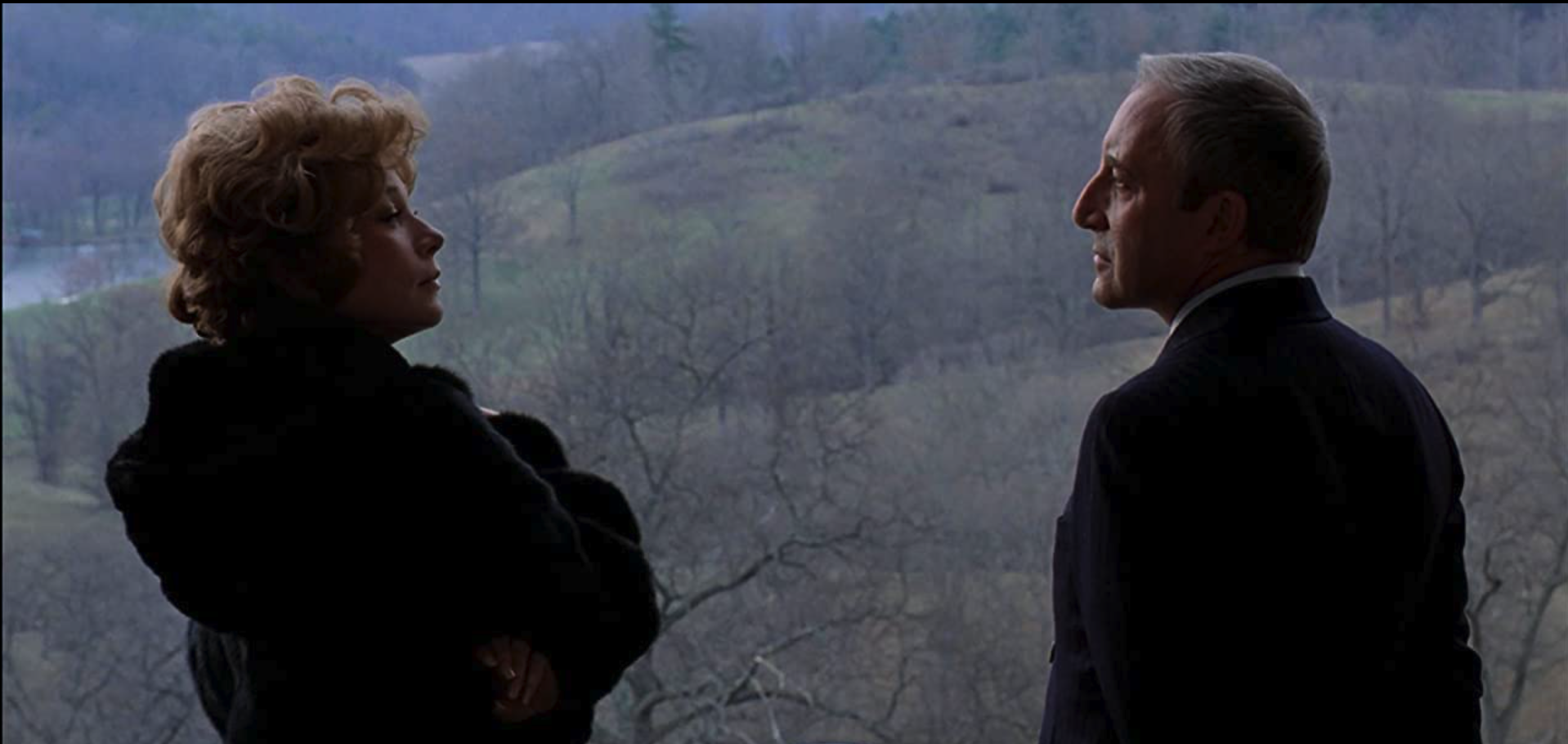 """Image Shirley MacLaine & Peter Sellers from """"Being There"""""""