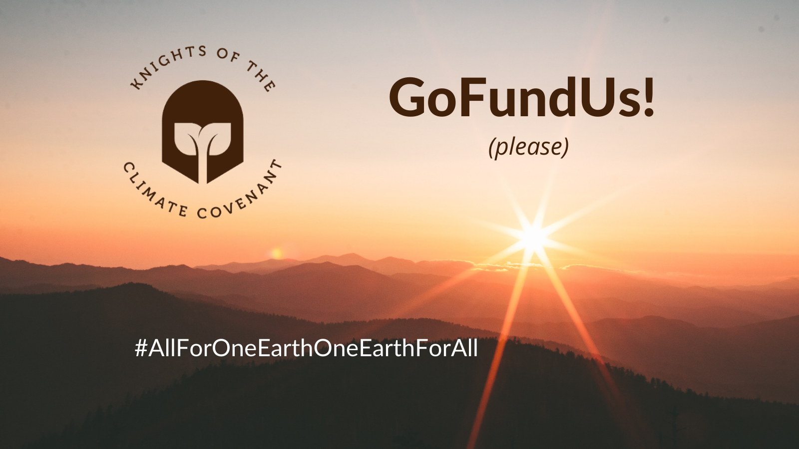 A graphic promoting a GoFundMe campaign